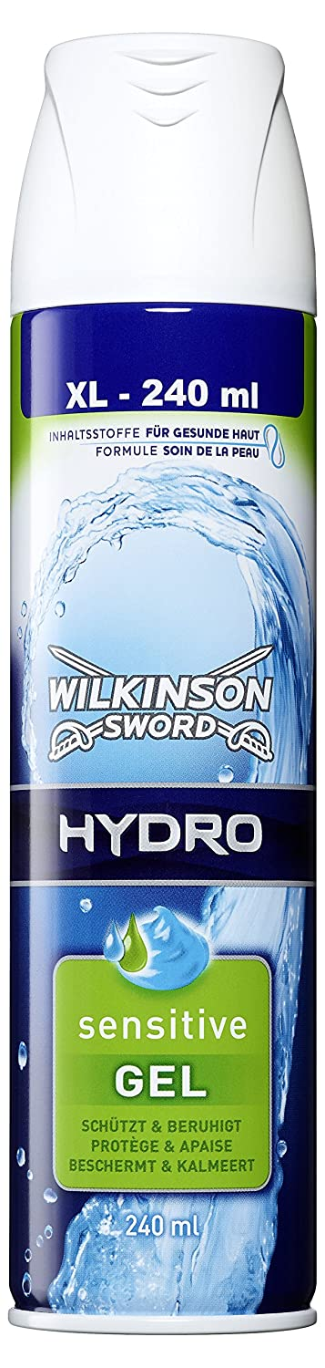 Wilkinson Sword Hydro Shave Gel Sensitive 240ml x 2 Energizer Group we002430