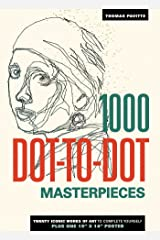 1000 Dot-to-Dot: Masterpieces Paperback