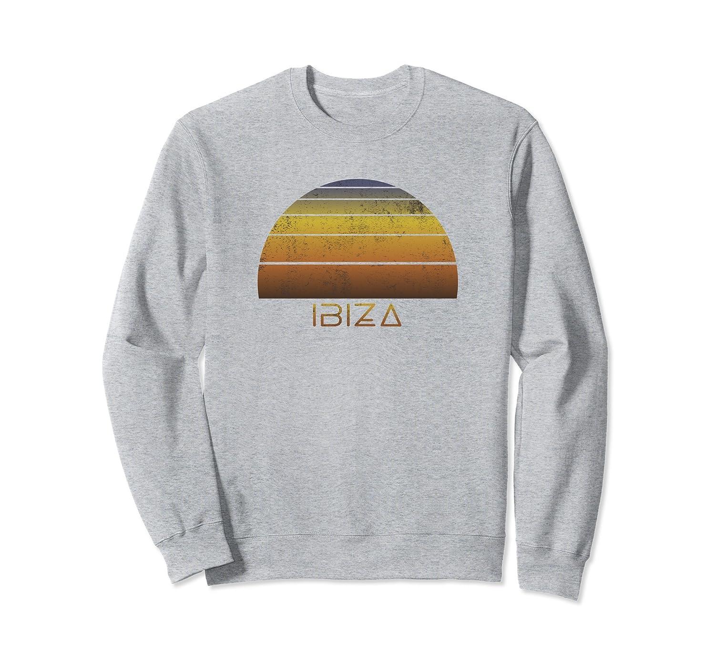 Ibiza Souvenir Sweatshirt - Family Vacation Apparel-alottee gift