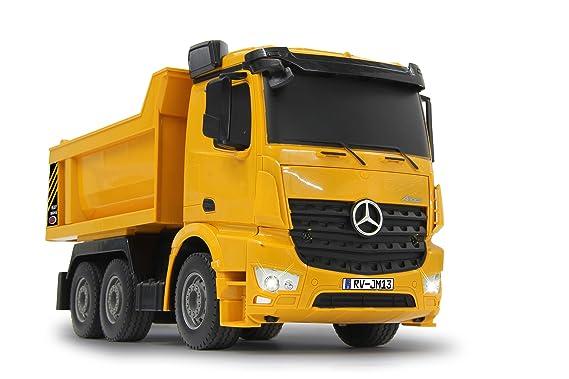 Jamara - Vagoneta basculante Mercedes Arocs 1:26 2,4 GHz (405108): Amazon.es: Juguetes y juegos