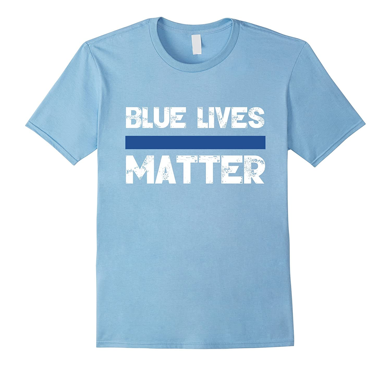 Blue Lives Matter Vintage T-Shirt Support Law Enforcement ...