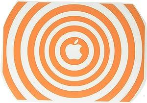 The Decal Guru 2048-MAC-13X-P Music Waves MacBook Decal Vinyl Sticker - 13