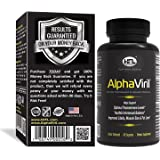 AlphaViril™ by Dr Sam Robbins | Natural Testosterone Booster, Increases Libido, Sex Drive, Strength, Energy, Builds Muscle | Only For Men | Made In USA | Tongkat Ali Extract, Horny Goat Weed.