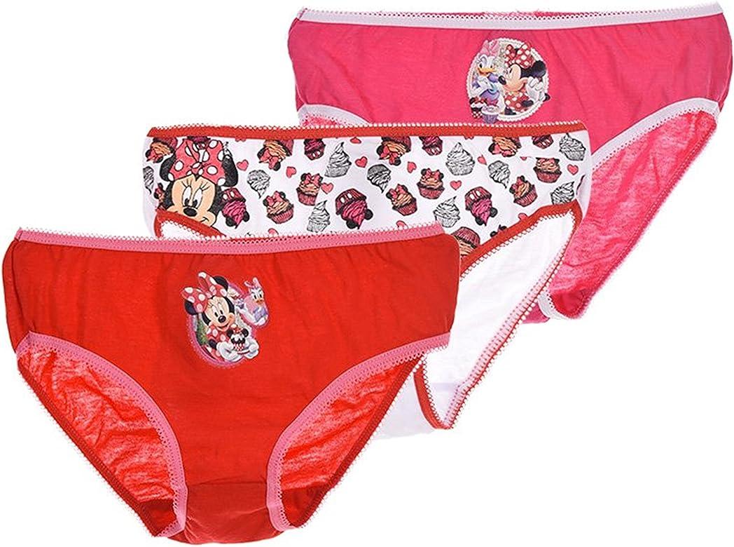 958c0d47cd68 Pack de 6 braguitas diseño MINNIE MOUSE (Disney) 3 diseños ...