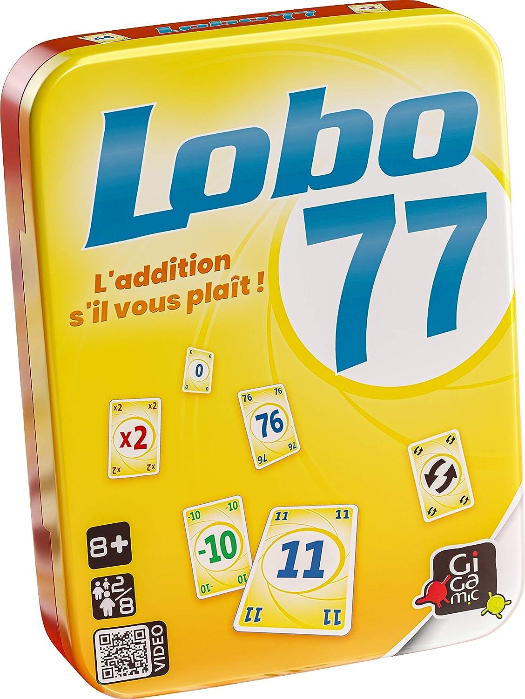 GIGAMIC – amlobo Lobo 77 – Juego de Tarjeta –: Amazon.es: Juguetes ...