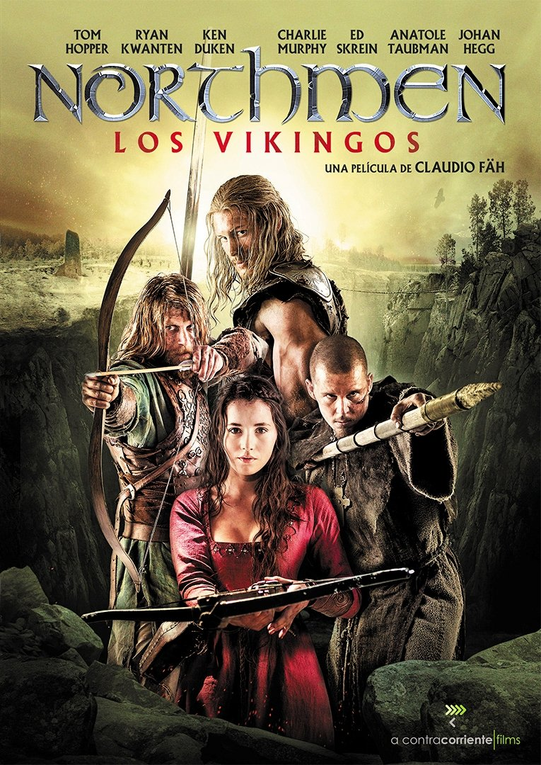 Northmen (Los vikingos) [DVD]: Amazon.es: Tom Hopper, Ryan Kwanten ...