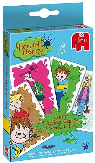 Amazon.com: Horrid Henry – Gigante jugando a las cartas ...