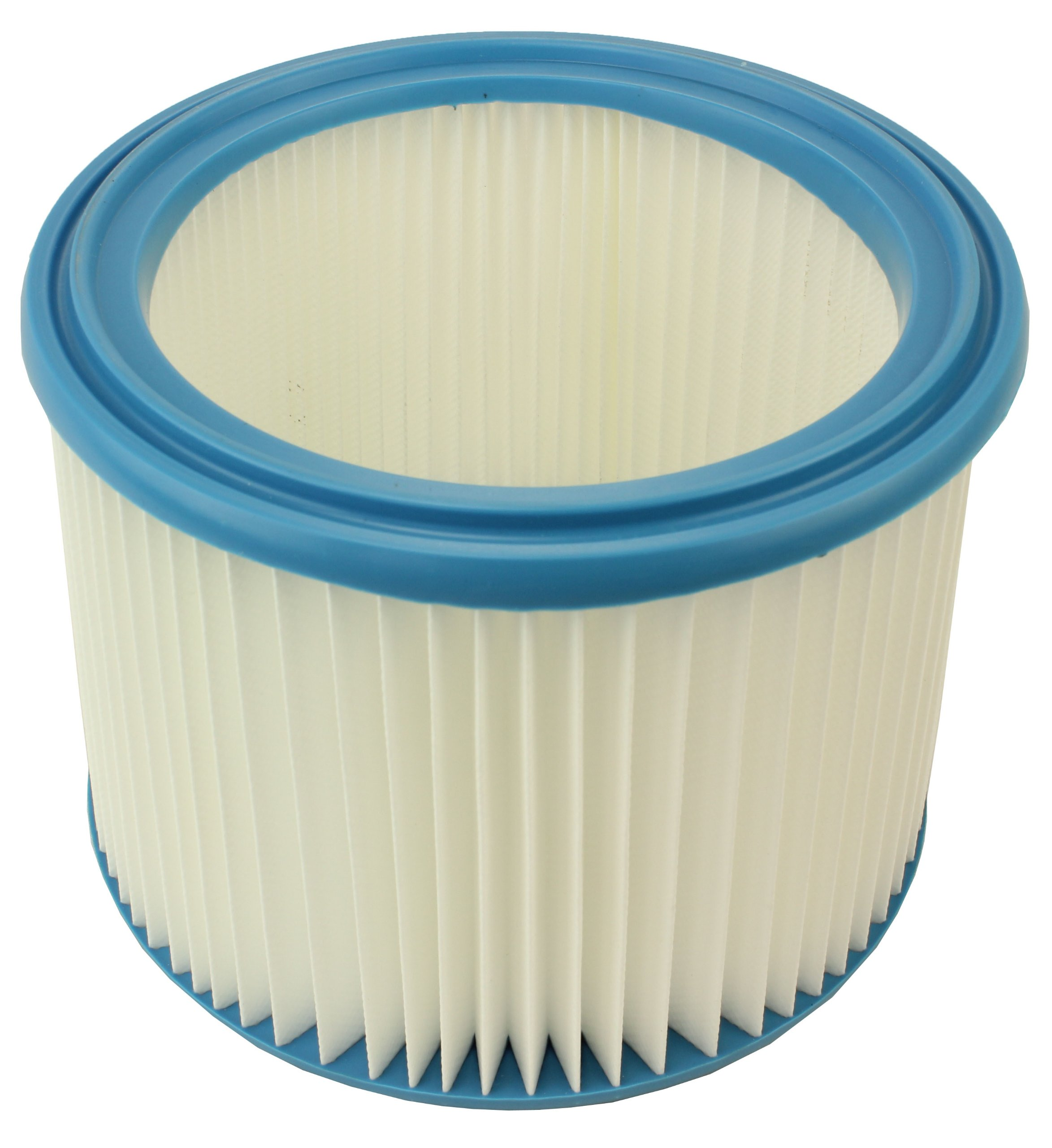 Spares2go Filter Cartridge For Nilfisk Wap Alto Attix 8 12 And 19 Gallon Vacuum Cleaners (Fully Washable)