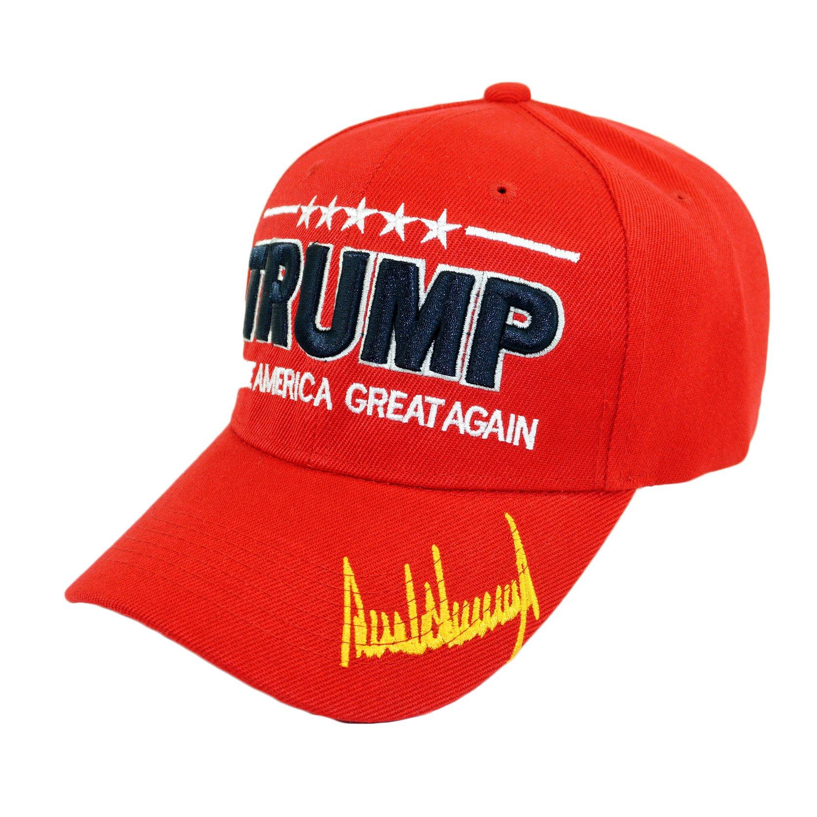 Bingoo Trump USA Patch Detachable Embroidery Hat 45th President Campaign Baseball Cap