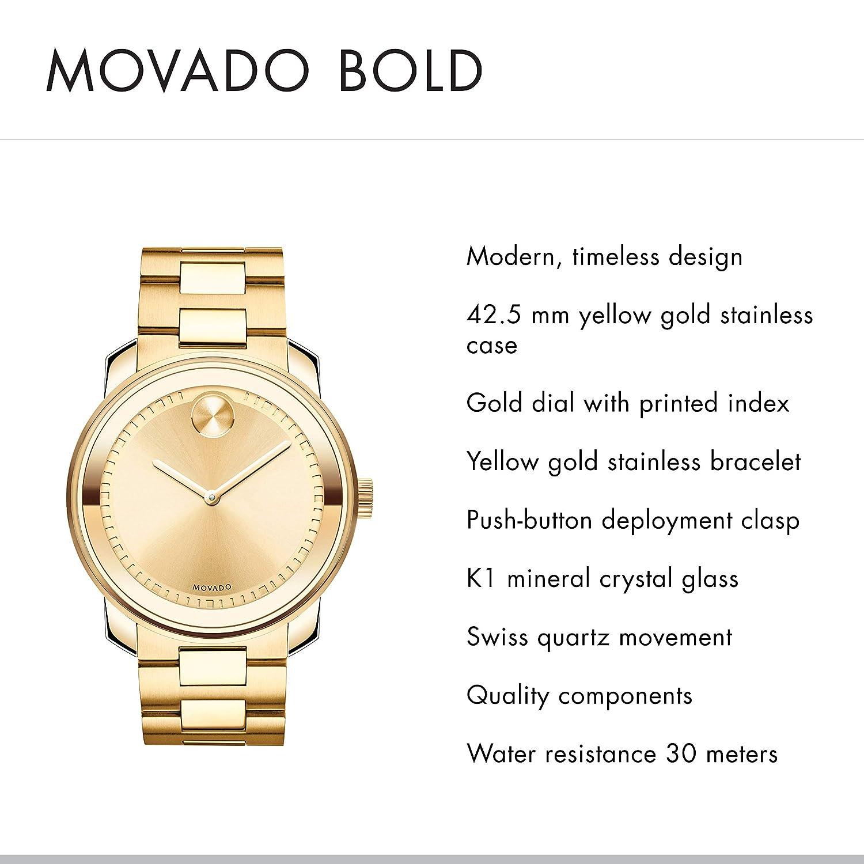 Movado Men s Bold – 3600258