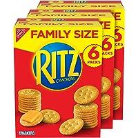 Deals on RITZ Original Crackers, Family Size, 3 Boxes