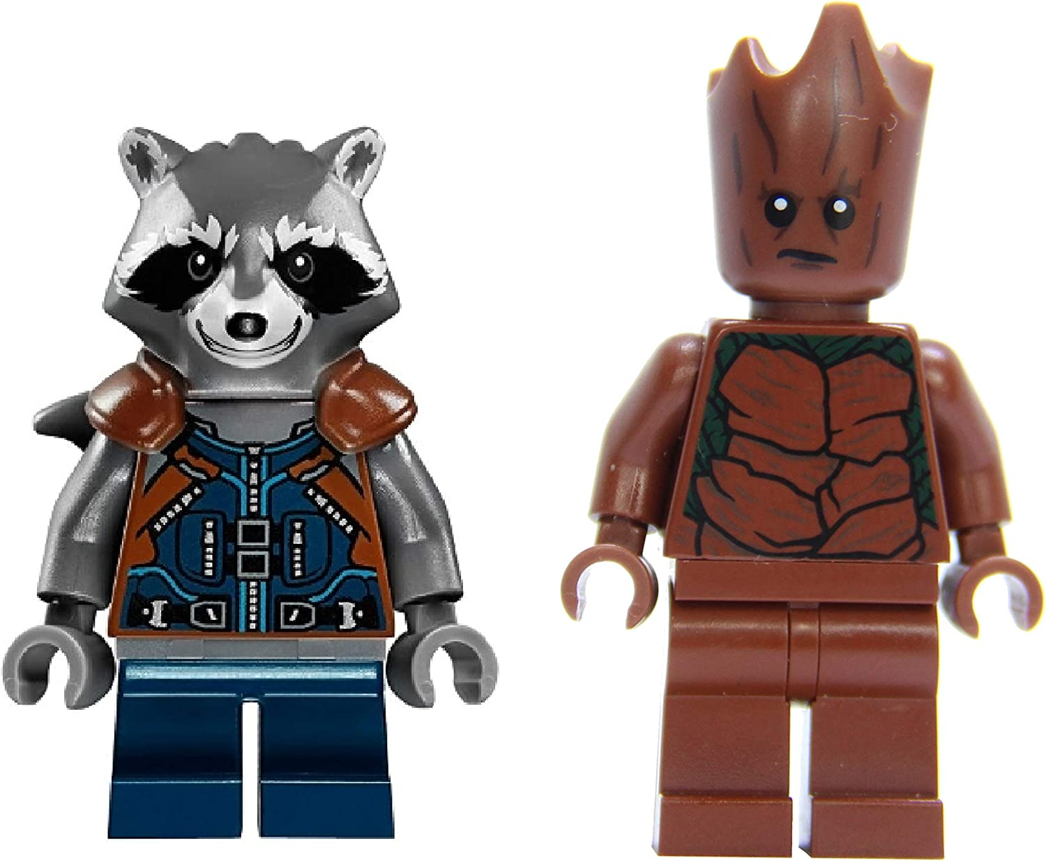 LEGO Superheroes - Groot and Rocket Racoon - Guardians of The Galaxy