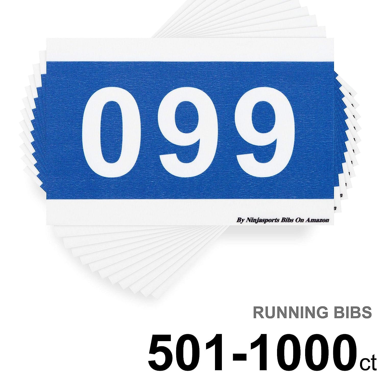 超美品の 5kランニングマラソンスポーツゲーム競技用レースナンバーバイブ - 501-1000 5.5インチ x 8.25インチ 5.5インチ 耐引裂性と防水性を備えた100枚セット - B07PF97HV5 501-1000, ガーデン太郎:60554323 --- arianechie.dominiotemporario.com