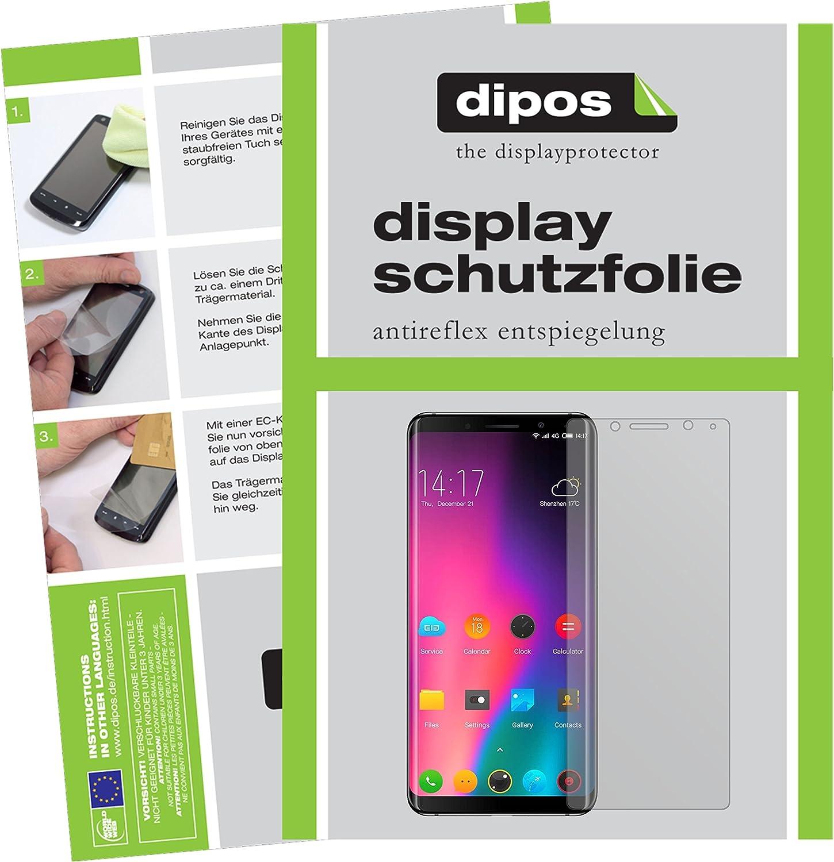 dipos I 2X Protector de Pantalla Mate Compatible con Elephone U ...