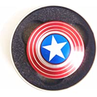 Excel Productions High Quality Metal Hand Spinner Captain America Style
