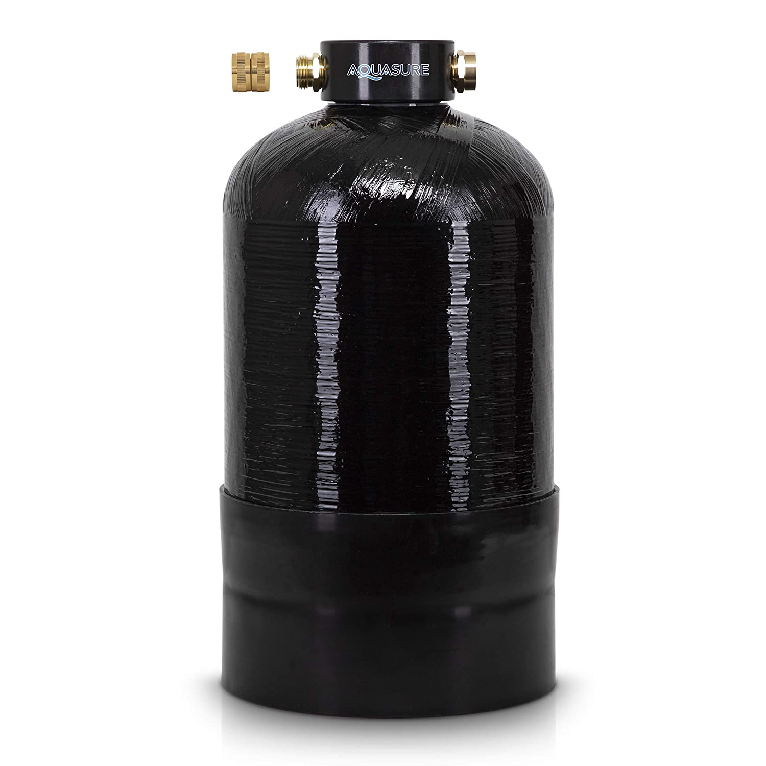 """Portable Water Softener Pro 16,000 Grain Premium Grade RV, Trailers, Boats, Mobile Car Washing, High Flow 3/4"""" GH Ports"""