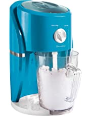 Domoclip DOM332 Appareil 2 en 1 granités et glace pilée 25 W, Blanc/Bleu