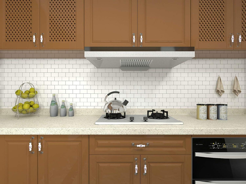 - Amazon.com: 10-Sheet Peel And Stick Tile For Kitchen Backsplash
