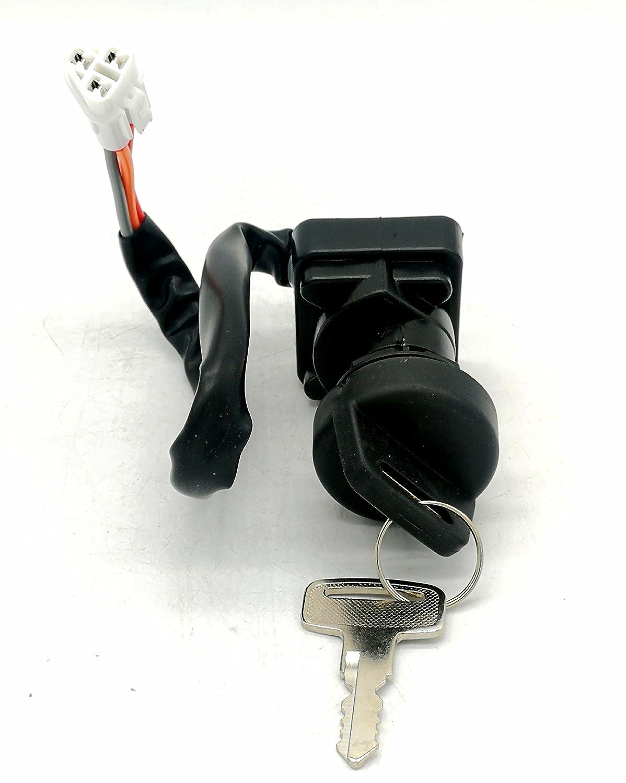 Loofu Ignition Key Switch For 2005-2008 LT-Z400 LTZ400 Suzuki Part#96