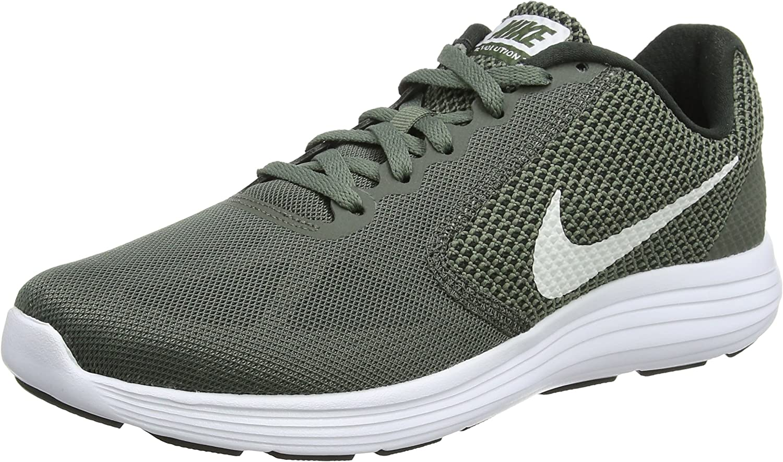 Nike Revolution 3, Zapatillas de Running para Hombre, Verde (Verde Vintage/Blanco/Rock River 020), 40.5 EU: Amazon.es: Zapatos y complementos