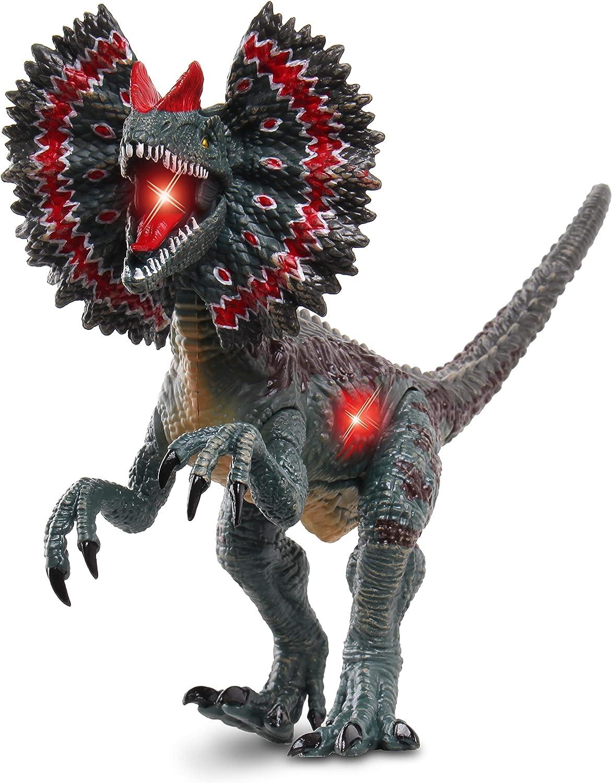 NKOK WowWorld B/O Dilophosaurus (Lights & Sounds)