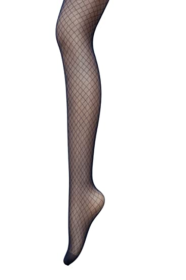 ad7aa89c00473e Amazon.com: PreSox Fishnet Tights Seamless Nylon Mesh Stockings Control Top  Sheer Pantyhose for Women Girls, One Size, Black: Clothing