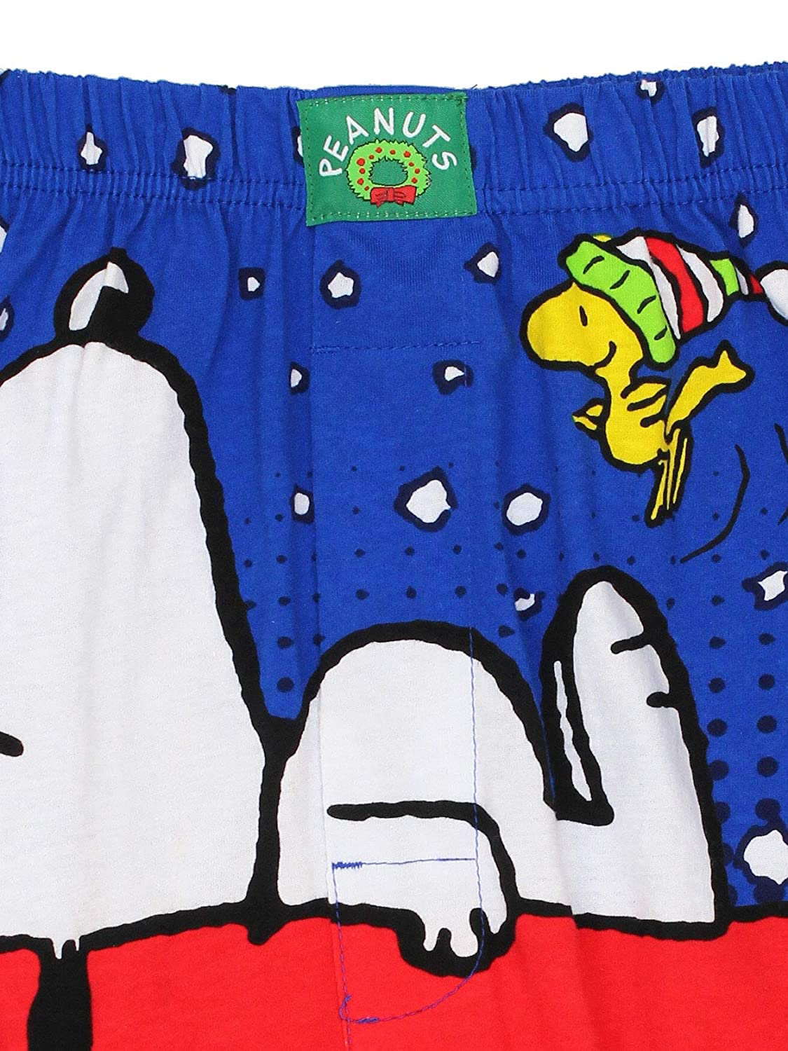 cc5ae12d8049 ... Peanuts Snoopy Woodstock Mens Christmas Holiday Boxer Shorts Underwear  manufacturer ...