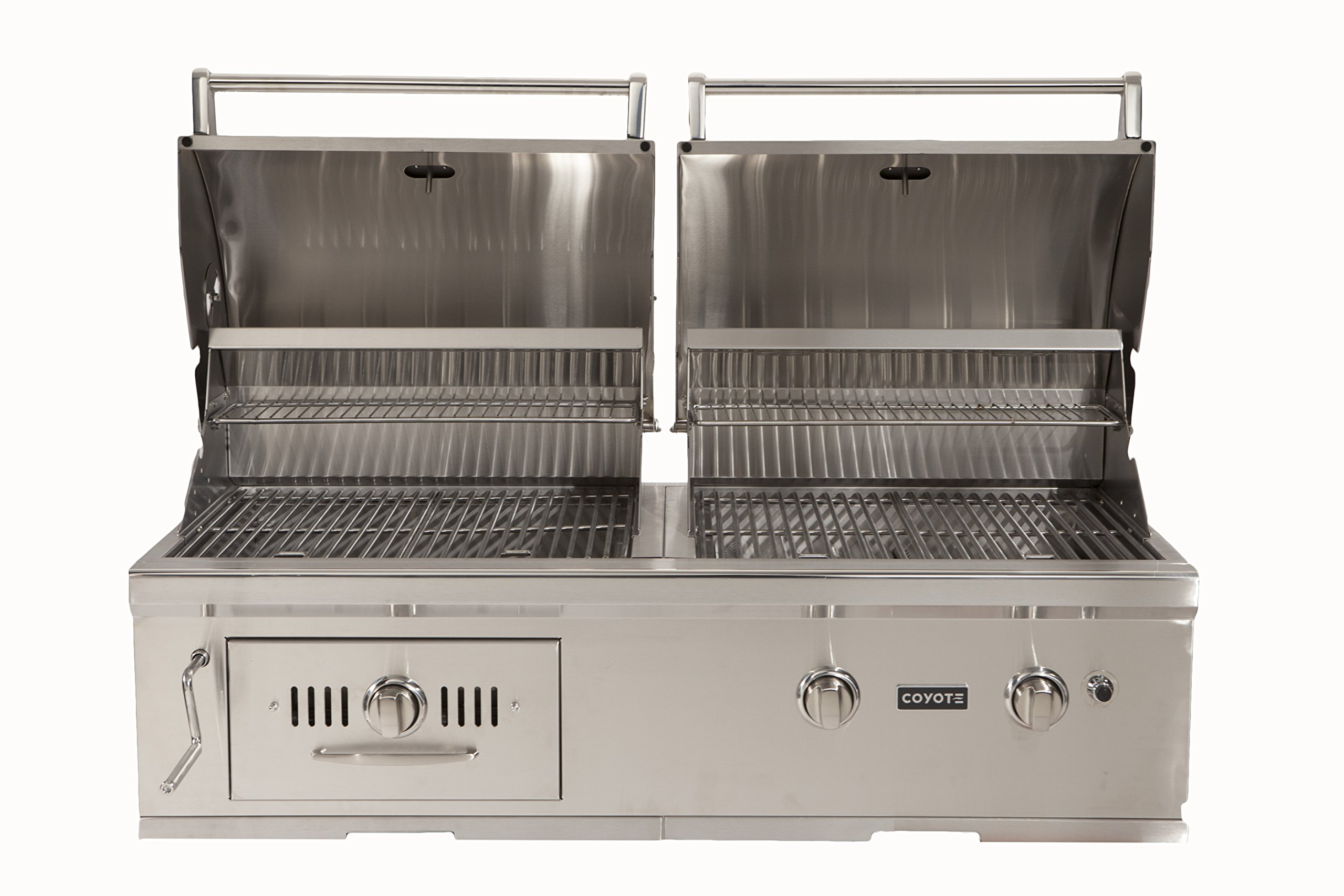 Coyote CH50NG Hybrid Grill, 50-Inch