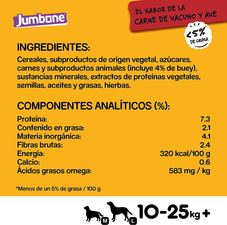 Pedigree Jumbone Huesos para Perros sabor Vacuno y Ave (pack ...