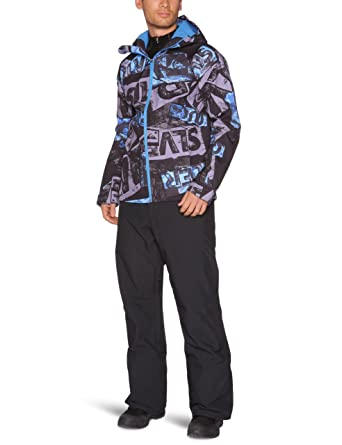 Quiksilver de hombre Elemental softshell-elemental - Pantalones para la nieve chaquetas, hombre, color azul, tamaño M: Amazon.es: Deportes y aire libre