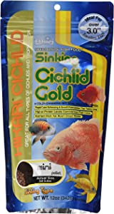 Hikari Sinking Cichlid Gold Fish Food, Mini Pellets