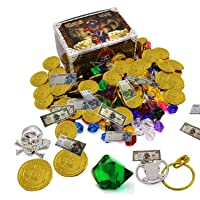 Smailkat Pirate Party Supplies Pack Kids Toys Pirate Treasure Deals