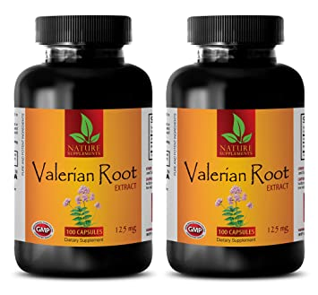 sleeping aid melatonin - VALERIAN ROOT EXTRACT 125 MG - DIETARY SUPPLEMENT - valerian root anxiety