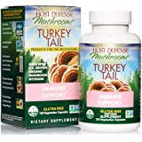 Host Defense, Turkey Tail, 120 Capsules, Natural Immune System and Digestive Support, Daily Mushroom Mycelium Supplement, USD