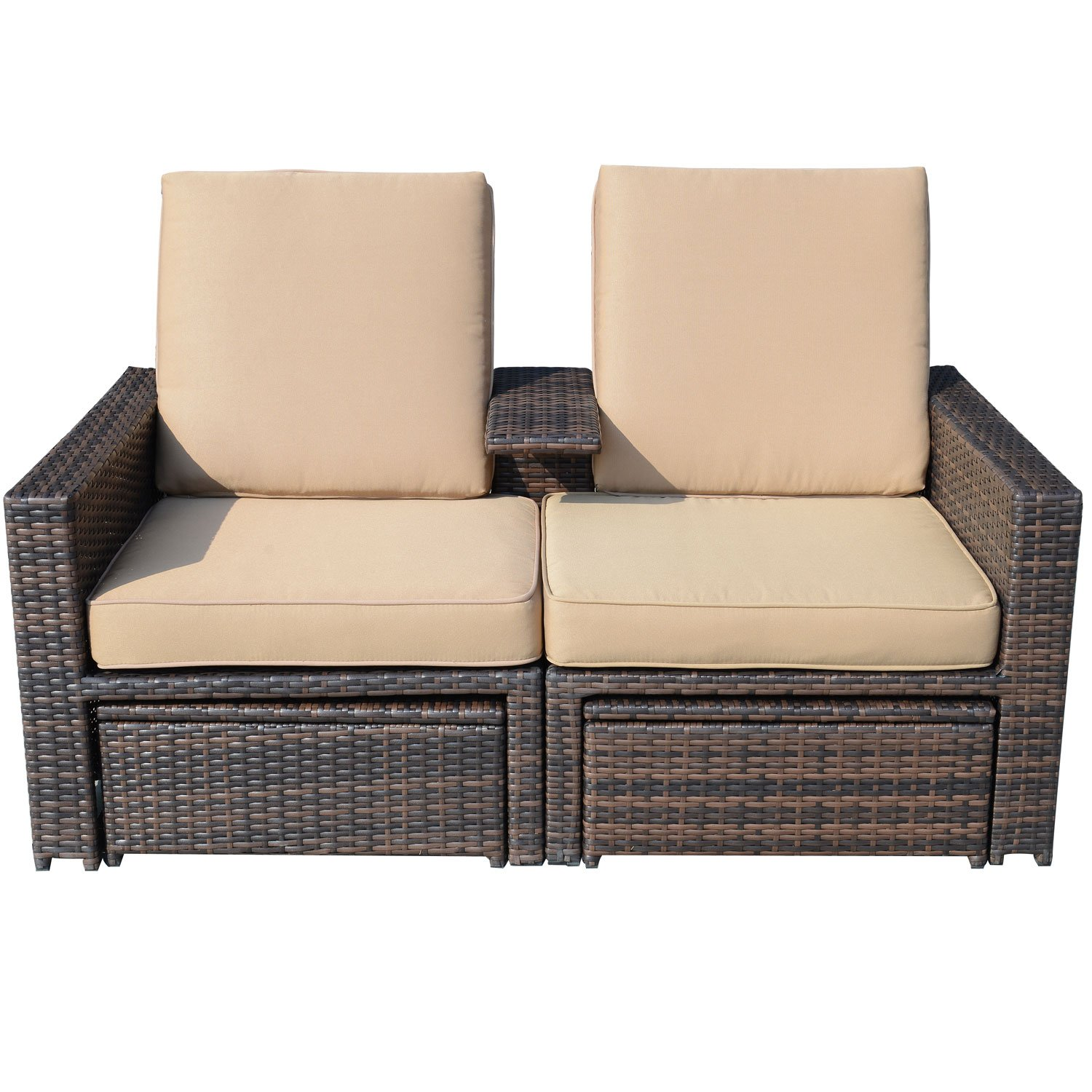 Chaise Lounge Outdoor Sofa Sutton Place Outdoor 3pc Seating Set 1