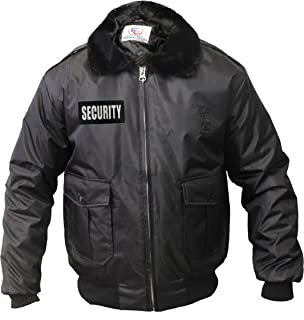 Amazon.com : Rothco Security Reverse Nylon/Polar Fleece Jacket