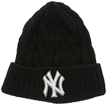 New Era Men s New Era Cable Knit Ny Yankees Beanie Hat b7c64d9decb