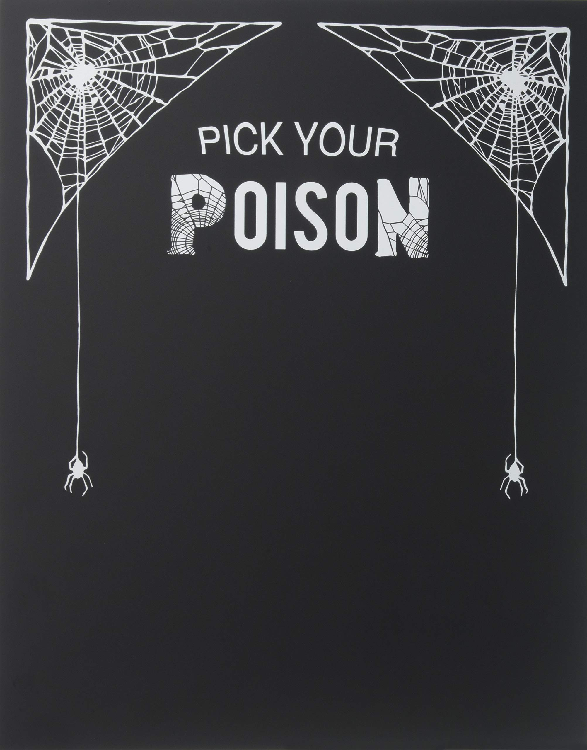 Cathy's Concepts  Pick Your Poison Decorative Chalkboard