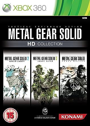 Metal Gear Solid HD - Collection (Xbox 360) [Importación ...