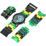 LEGO Watches and Clocks Boy's 'Ninjago Sky Pirates' Quartz Plastic Casual WatchMulti Color (Model: 8020554)
