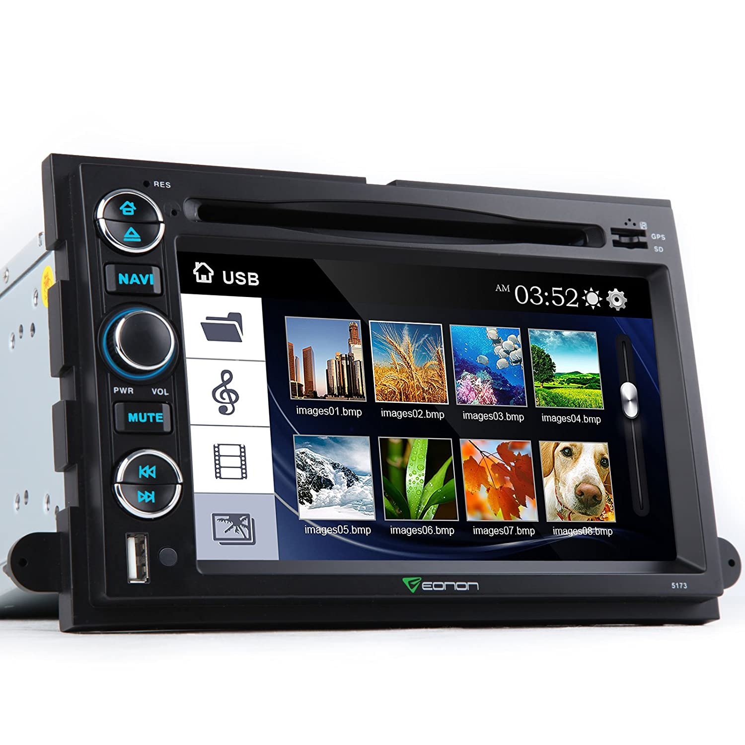 Eonon D5173z For Ford F 150 Hd Dual Mount Backup Wiring Diagram Camera 7 Touch Screen Dvd Gps Navigation Bluetooth Car Electronics