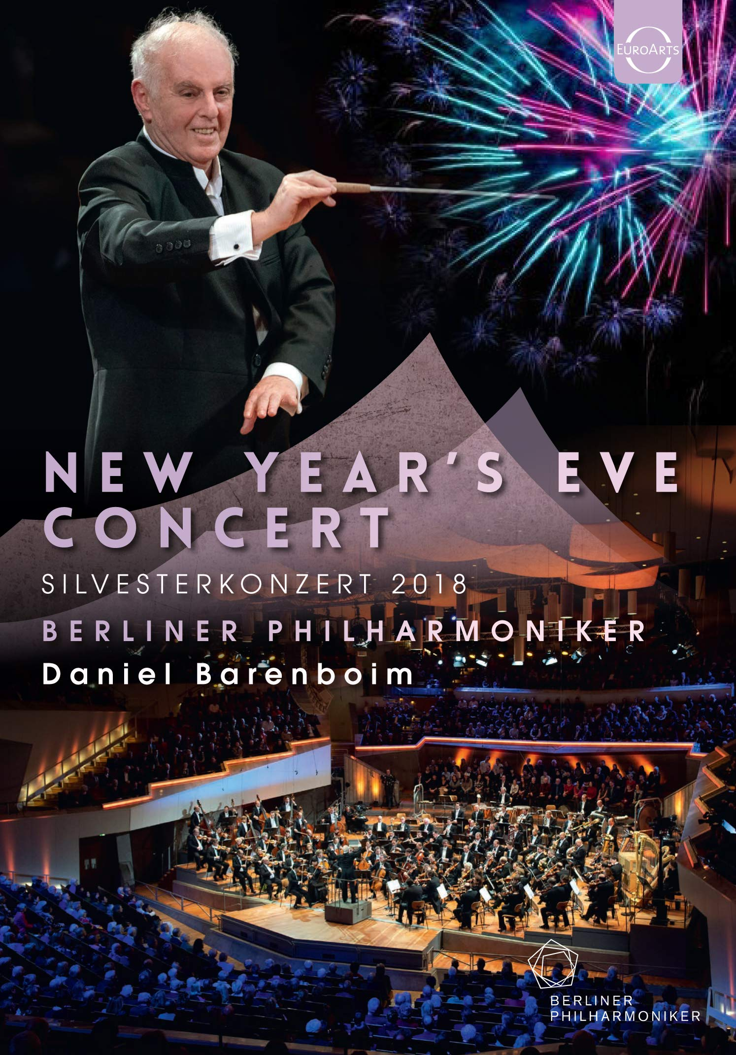 DVD : DANIEL BARENBOIM & BERLINER PHILHARMONIKER - New Year's Eve Concert 2018 (United Kingdom - Import)