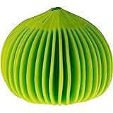 Koopeh Designs Garlic Peeler, Silicone, Lime Green, 1