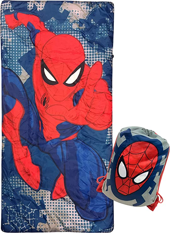 Marvel Comics Spider-Man 10 inch Mini Backpack Spidy Quilted Glows In The Dark