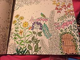 Secret Garden An Inky Treasure Hunt And Colouring Book Amazoncouk Johanna Basford