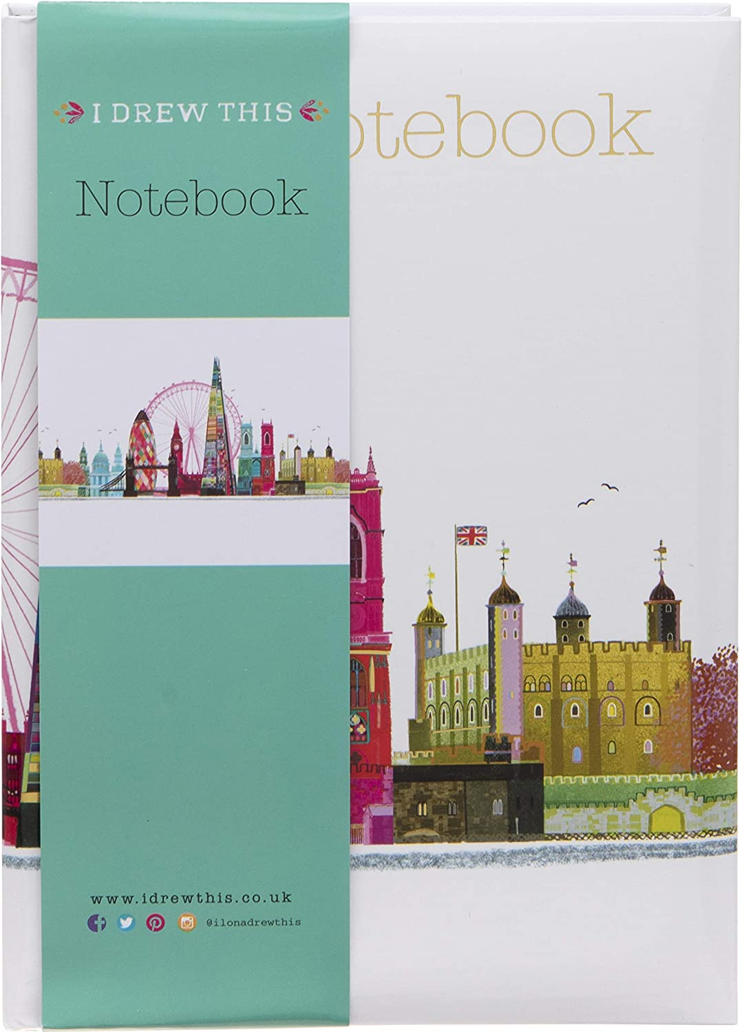 Paperchase Mind The Gap A6 London Notebooks Pack of 3
