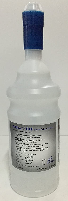 Original VW / Audi Adblue urea solution, 1.89 litres. 1.89litres. G052910A2