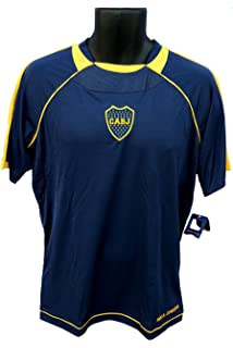 Boca Juniors Officially Licensed Youth Soccer Training Performance Poly Jersey 002 Youth Size