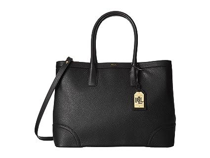 Ralph Lauren Women s Pebbled Leather Fairfield City Tote Bag Black   Amazon.ca  generic e69a1aefcdb5e