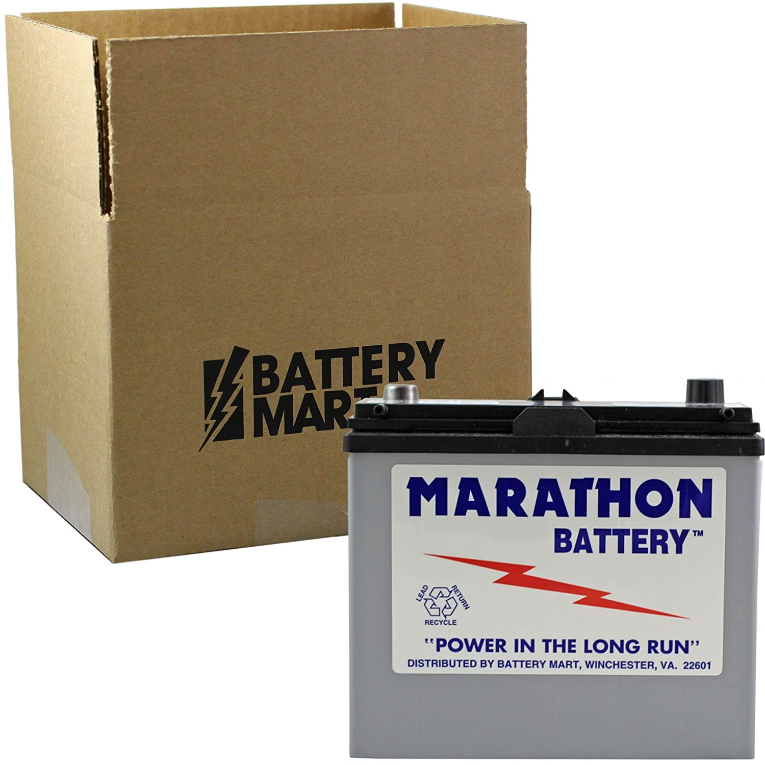 Mazda MIATA MX-5 L4 1.6L 1990-2005 Battery Replaces SLIU1RT BatteryMart.com MAR-8AM-U1R